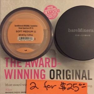 Bare Mineral Foundation SOFT MEDIUM